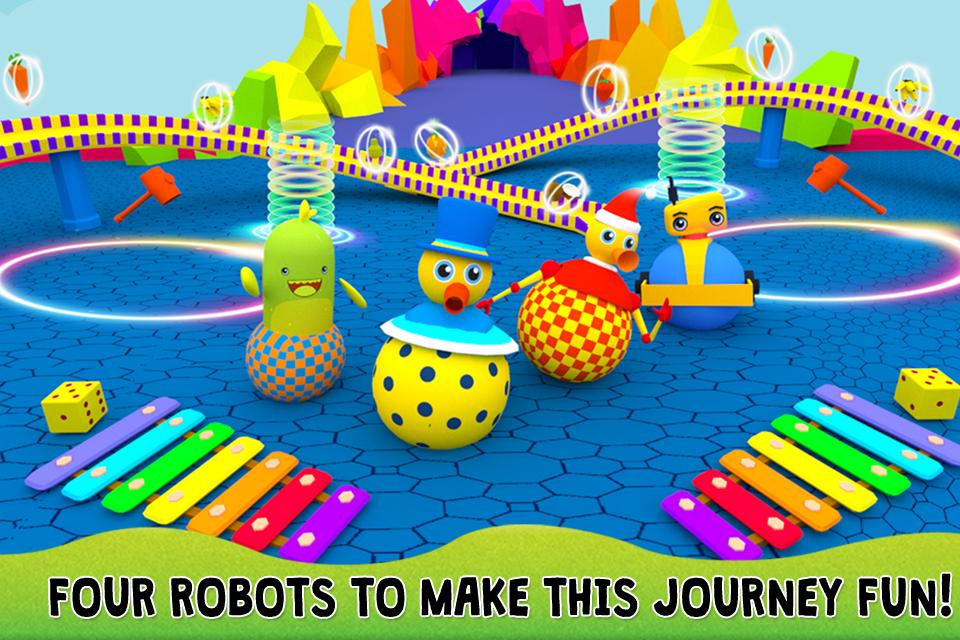 Play With Robots - Free 3D Educational Kids Game- screenshot