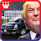 3D Car Driving Simulator - President Donald Trump icon
