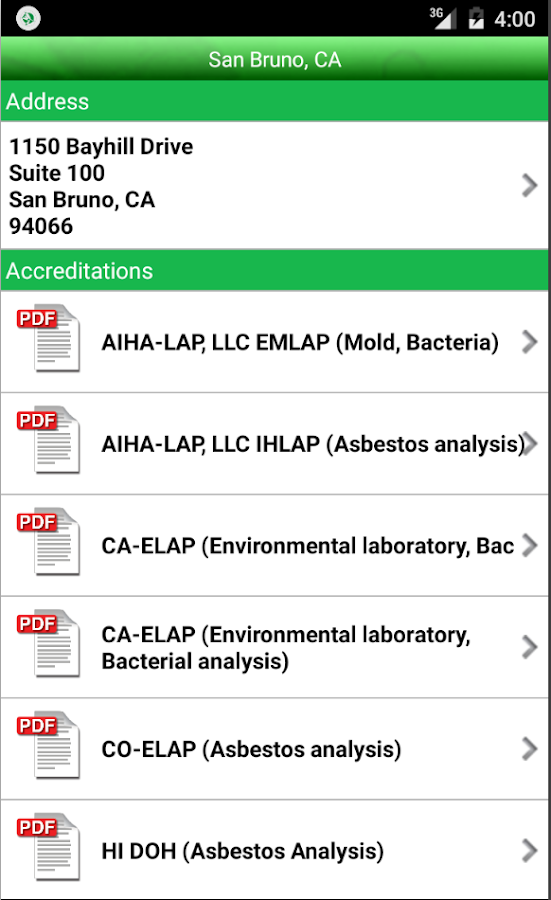 EMLab P&K LabServe® Mobile- screenshot