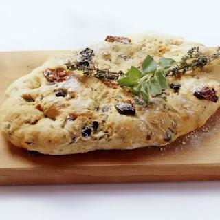 Olive and Sundried Tomato Focaccia
