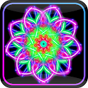Paint magic kaleidoscope free icon