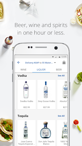 delivery.com: Order Food, Alcohol & Laundry 5.16.1 screenshots 2