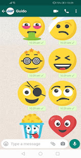 New Emojis Stickers 4D Animated WAStickerApps for PC-Windows 7,8,10 and Mac apk screenshot 4