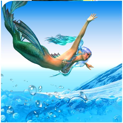 Mermaid Water Swimming Tournament