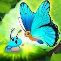 Flutter: Butterfly Sanctuary - Calming Nature Game icon