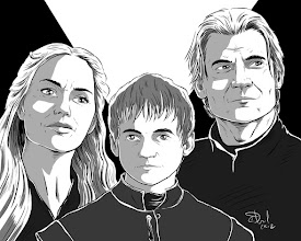 Photo: Not Quite 366 Avatars Project 2012: Game of Thrones Edition Here's my Lannister family portrait. Because as we all know, a Lannister always pays his debts.  Custom avatars by CDowd >> http://CDowd.com/avatars