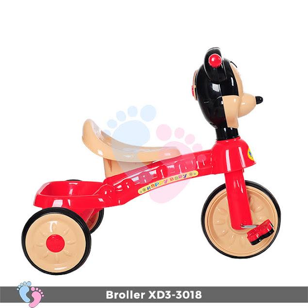 xe đạp trẻ em ba bánh 3018