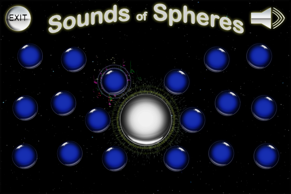 Sounds of Spheres- screenshot