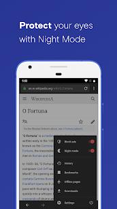 Opera with free VPN 7