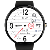 Tic-Tac-Toe - Paper Watch Face