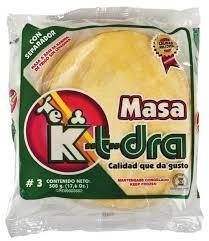 masa k-t-dra para pastelitos n3 500gr