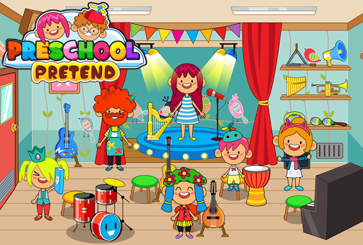 Pretend Preschool - Kids School Learning Games 1.3 DreamHackers 7