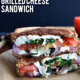 Mediterranean Grilled Cheese Sandwich.