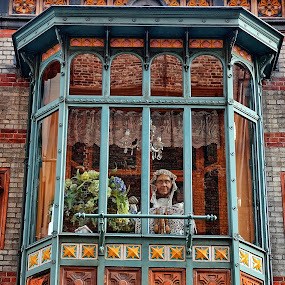Brugge Belgium by Bob White - Buildings & Architecture Architectural Detail ( window, dolls, bruges, belgium, brugge,  )