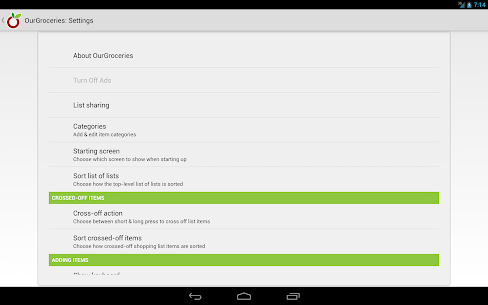 Our Groceries Shopping List Premium v3.1.0 Cracked APK 10