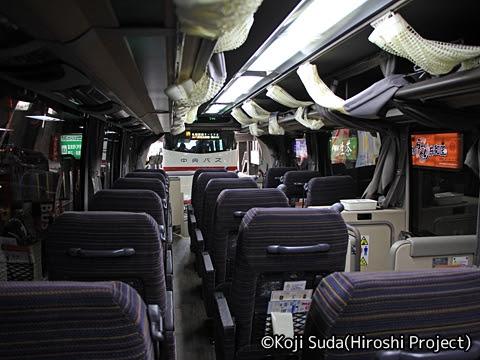 函館バス「高速はこだて号」 T3267 車内_02