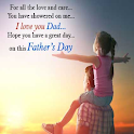 Fathers Day: Greeting, Photo Frames, GIF, Quotes icon