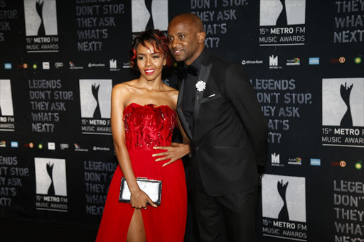 Arthur Mafokate and his ex-artist Cici