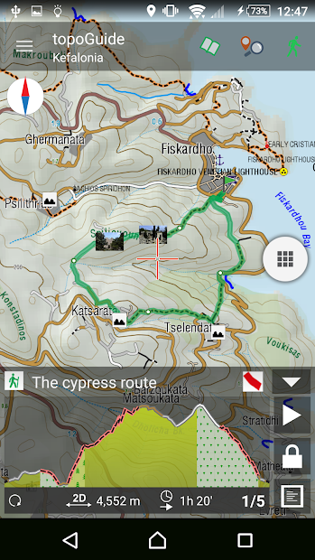 Kefalonia topoGuide Apps on Google Play