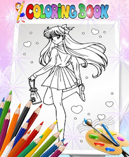 How To Color Sailor Moon - Coloring Book - Apps on Google Play