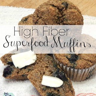 High Fiber Blueberry Muffins Recipes