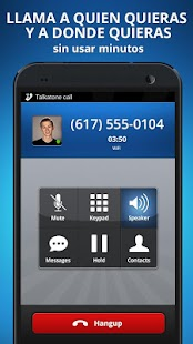 Talkatone. Llamadas y textos- screenshot thumbnail