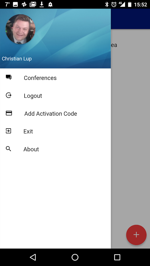 Poltys Conference Manager- screenshot