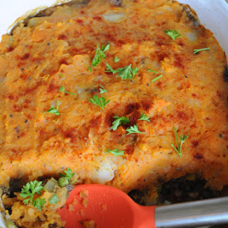 Sweet Potato Shepherd's Pie.