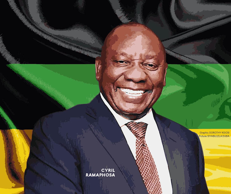 Image result for cyril ramaphosa devil