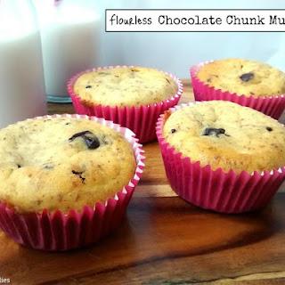 Flourless Chocolate Chunk Muffins