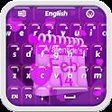 Purple Valentine Keyboard icon