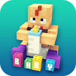 Baby Craft: Kids World Crafting and Building Games Icon