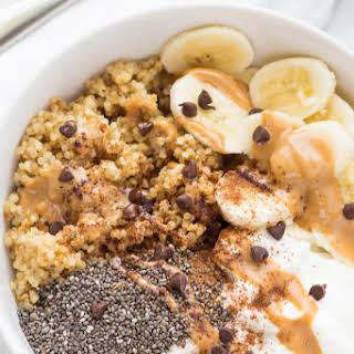 Greek Yogurt and Quinoa Breakfast Bowls.