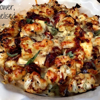 Cauliflower, Caramelised Onion and Fontina Gratin