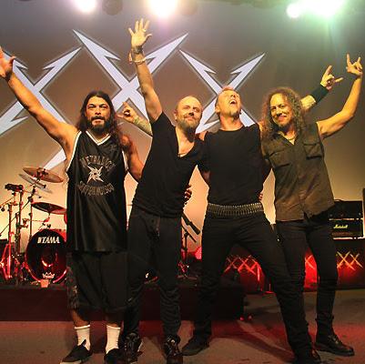 Cancelan concierto de Metallica