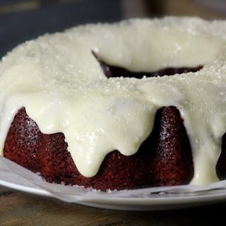 Sparkling Red Velvet Bundt Cake