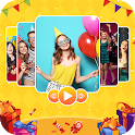 Birthday Video Maker with Music 2020 icon