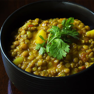 Crock-pot Lentil Curry