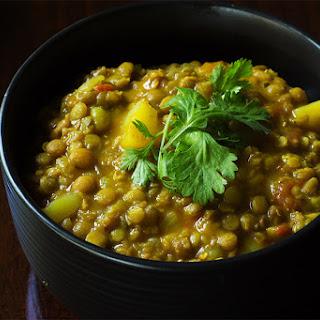 Crock-pot Lentil Curry.