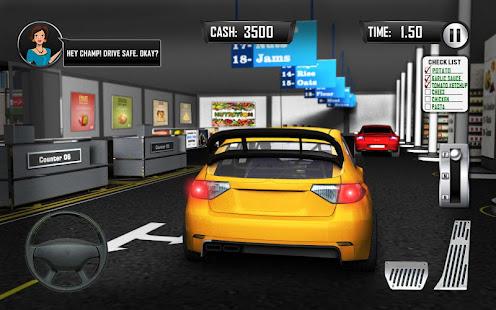 Game Drive Thru Supermarket: Shopping Mall Car Driving APK for Windows Phone