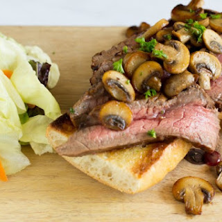 Balsamic Marinaded Steak Sandwich