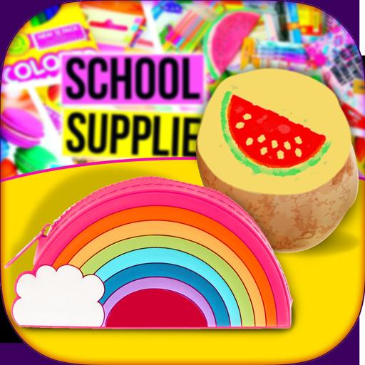 Back To School Supplies Maker! DIY Stamp & Case (game)