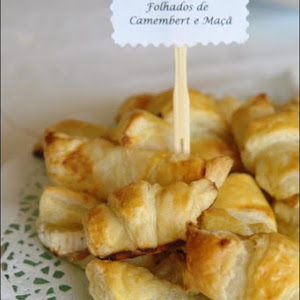Camembert and Apple Puffs