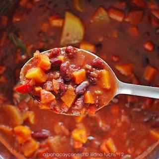 Hearty Vegetarian Chili.