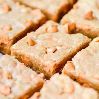 Butterscotch Blondies Recipe