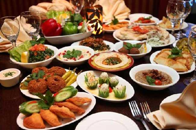 Lebanese Restaurant East London