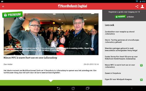 Noordhollands Dagblad - Android Apps on Google Play