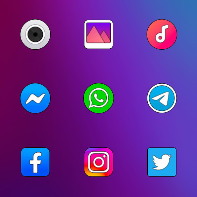 COLOR OS - ICON PACK Screenshot Image