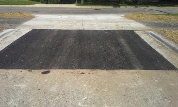 Photo: NE Parking Lot Entrance 06-26-2014