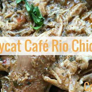 Copycat Cafe Rio Chicken